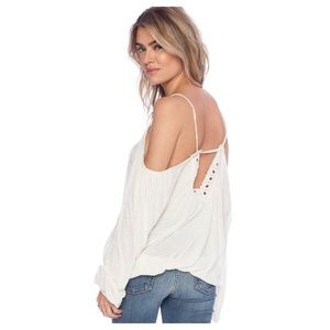Free People Adelia Boho Blouse